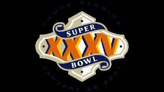 Super Bowl 35 (XXXV) - Radio Play-by-Play Coverage - CBS Radio Sports