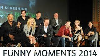 Arrow cast    Funny monents 2[2014]