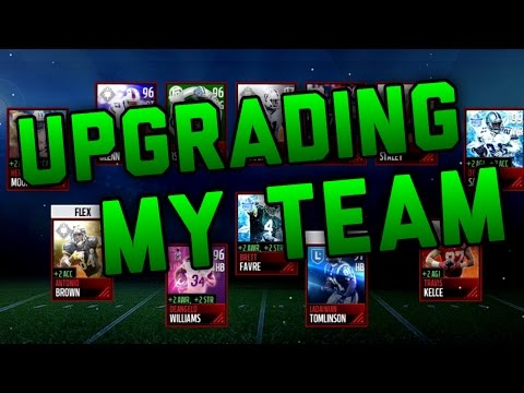 Upgrading My Team With 2 Million Coins CRAZIEST Team Ever Madden Mobile 17