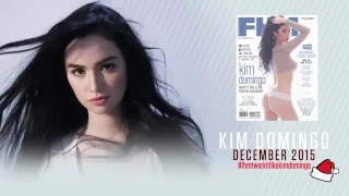 December Cover Girl Kim Domingo Sizzles Behind The Scenes!