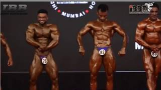 IBBF Mr India 2018 Pre Judging 70 Kg