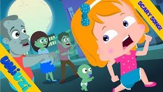 Umi Uzi | Zombie Town |  Halloween Songs | Kids Original Rhymes