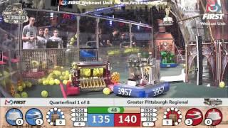Quarterfinal 1 - 2017 Greater Pittsburgh Regional