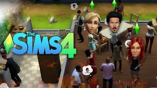 EDMOND'S FIRST HOUSE PARTY?! | The Sims 4 | Lets Play - Part 4