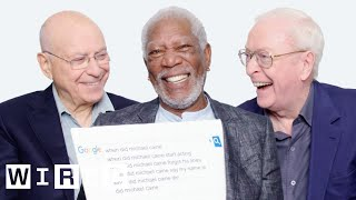 Morgan Freeman, Michael Caine, and Alan Arkin Answer the Web