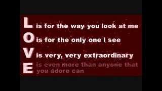 L-O-V-E Lyrics