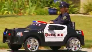 Kid Trax Police Dodge Charger Review - Sidewalk Cops Car