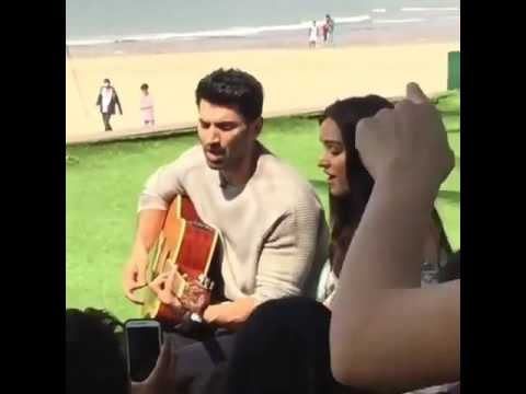 Xxx Mp4 Shradda Kapoor And Aditya Roy Kapoor Singing Humma Humma Song At Juhu Beach Mumbai 3gp Sex
