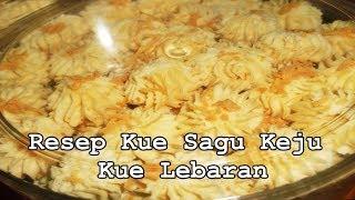 Resep Kue Sagu Keju Gurih Dan Lezat - Kue Lebaran