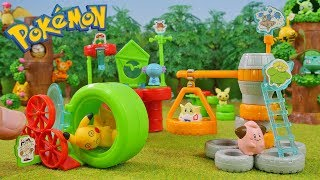 Pokemon Toys Park - Candy Toys 5 Packs Unboxing Opening