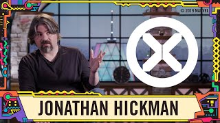 Jonathan Hickman on the future of the X-Men at SDCC 2019!
