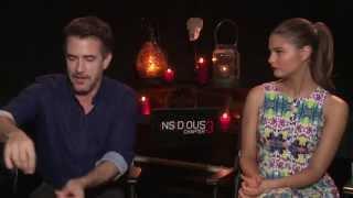 Insidious: Chapter 3 Interview with Dermot Mulroney & Stefanie Scott