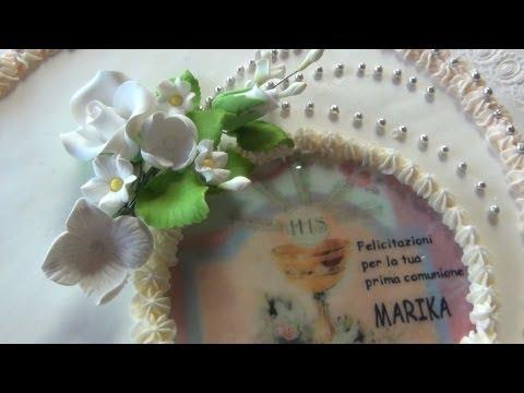 Torta Prima Comunione Communion Cake