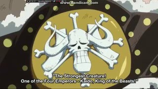kaido appears and the return of sanji team preview one piece episode 739