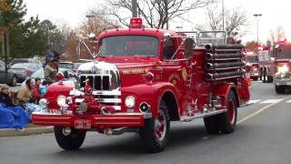 Prince Frederick and St. Leonard VFD at the parade today 12/4/2016