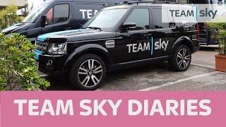 Team Sky Diary 5: Giro d'Italia – Race Cars & Trucks - what an operation!