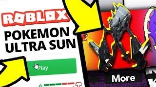 Pokemon Ultra Sun & Moon in Roblox?!