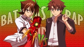 Basara Toujou vs Issei Hyoudou || Batallas de rap random || Midoriya