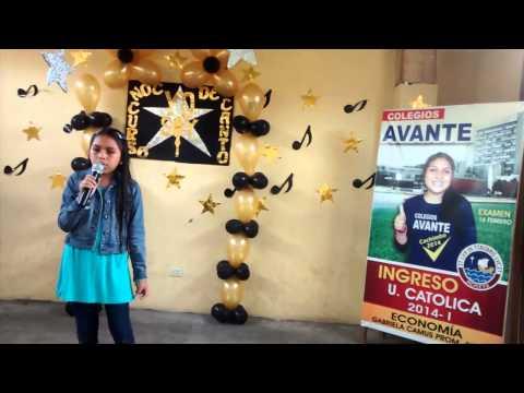COLEGIO AVANTE AVANTIFLORALES 2104 Camila Anchante 5° Grado