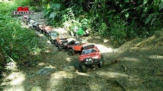 Download Mudding! Mud SPA! 10 trucks mud terrain Trail finder 2 Axial wraith scx10 Jeep RC offroad adventures 3Gp Mp4