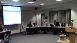 Sesión ordinaria de la Mesa Directiva de Educación del MUSD - 1/9/17