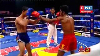 Thon Eanglay, Cambodia Vs Petch Arun, Laos, Khmer Boxing 13 october 2018