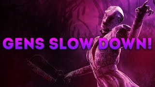 Dead by Daylight WITH...NURSE! - GENS SLOW DOWN!