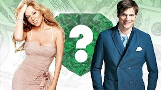 WHO'S RICHER? - Mariah Carey or Ashton Kutcher? - Net Worth Revealed!