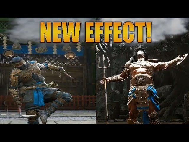 For Honor: NEW EFFECT! POSSIBLE KENSEI MOVES COMING?