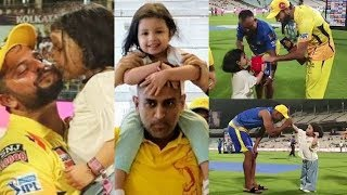 Ziva Dhoni Videos With CSK Players | IPL 2019 | MS Dhoni Daughter