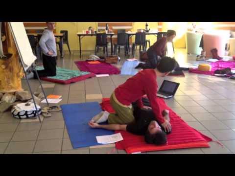 Japanese Shiatsu abdominal massage, Shiatsu sur le ventre, par Toshi ICHIKAWA, Anpuku Zukai按腹図解