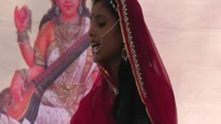 rajputana's brave queen hadi rani play by students in tonk