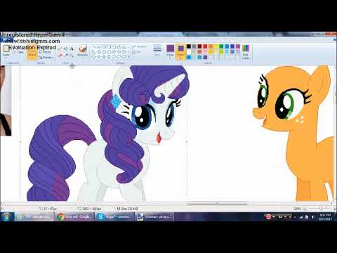 [MLP] Mane Six Alternate Hairstyles Speedpaint