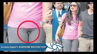 Kareena Kapoor wardrobe malfunction photos