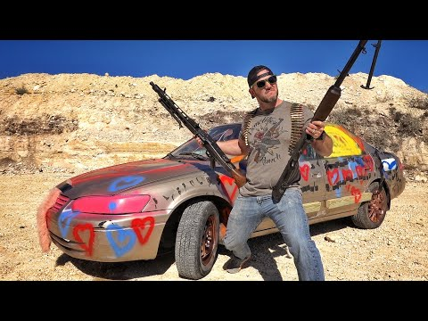 How Long Will it Take WWII Machine Guns to Explode a Camry
