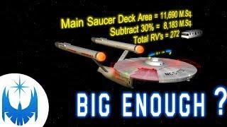 Is the Original Enterprise BIG Enough?? Analysis!!