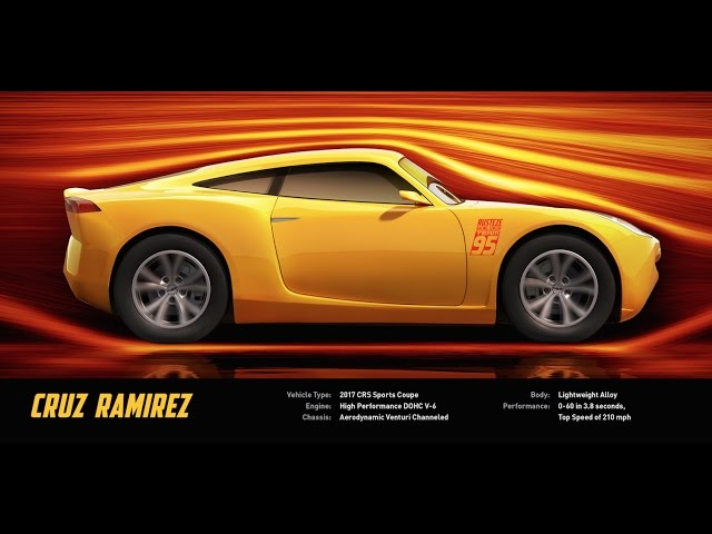 Meet Cruz Ramirez - Disney/Pixar's Cars 3