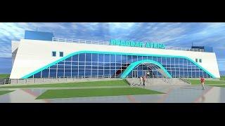 Открытие ледовой арены в п. Новобурейский (30 июля 2016 г.)