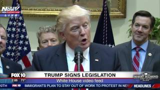 FNN: Trump and Miners Speak As POTUS Signs Bill Undoing Obama's Coal Mining Rule