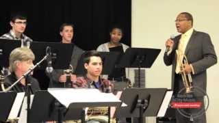 Short Version Wynton Marsalis Master Class At Boston Arts Academy Berklee City Music
