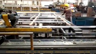 Aluminum Extrusion Profile Process- Working Video