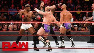 Roman Reigns & Bobby Lashley vs. The Revival: Raw, June 25, 2018