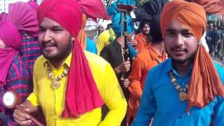 Great Welcome of Bolywood Singer Gajender Phogat By Panjab in CU