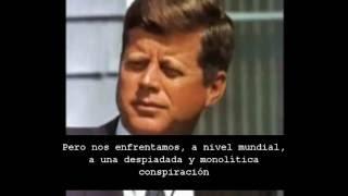 JFK SU ÚLTIMO GRAN DISCURSO