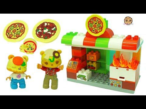 Xxx Mp4 Pizza Fire At Restaurant Fun Play Video With LEGO Duplo Num Noms Toys 3gp Sex