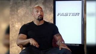 Faster Interview With Dwayne Johnson