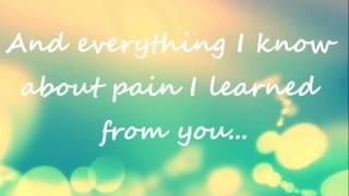 Thank You For The Broken Heart - J Rice Lyrics