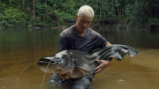 Watch Jeremy Finally Reel In This Elusive And Deadly Tapah | River Monsters