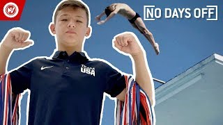 14-Year-Old Does INSANE Diving Tricks   No Days Off