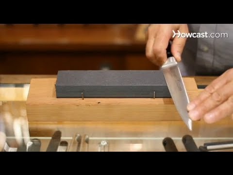 How to Use a Sharpening Stone | Knives